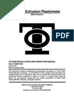 Plastometer MP200