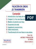 4.2 Propagacion Linea