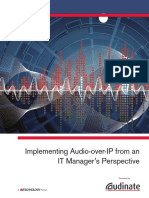 Audio Over IP for IT Managers
