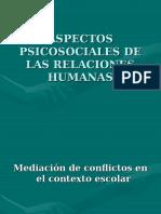 1. Aspectos PsicoSociales de Las Relaciones Humanas