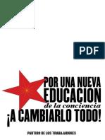 Nueva Educacion Imprimir Rojo