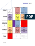 Timetable Sem1year3 Color