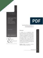 Dialnet-InvestigacionYExperiencia-4044515.pdf
