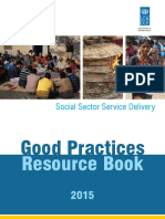 Resource Book on Good Practices