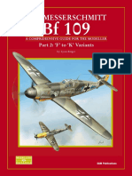 SAM Modellers Datafile 10 - The Messerschmitt Bf 109 Part 2 F to K Variants