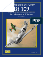 SAM Modellers Datafile 09 - The Messerschmitt Bf-109 Part 1 Prototype to 'E' Variants
