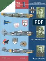 Kagero Asy Lotnictwa 01 Helmut Wick,Fritz Losigkeit,Kurt Knappe