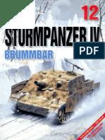 Kagero Photosniper 12 Sturmpanzer IV Brummbar