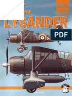 Mushroom Model Magazine Special - Orange Series 8103 - Westland Lysander