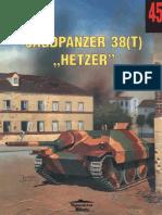 Wydawnictwo Militaria 045 Jagdpanzer 38(t) Hetzer