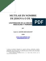 Spanish - Circuncision - Mutilar en Nombre de Jehova 1994