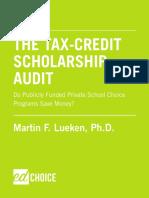 Tax Credit Scholarship Audit
