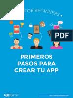 Primeros Pasos Para Creear tu App