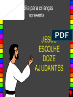 Jesus Chooses 12 Helpers Portuguese PDA