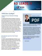 NITRD NewsLetter - July 2016