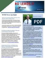 NITRD NewsLetter - October 2016
