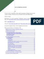 French - Adaptation du droit musulman aux législations nationales 2006
