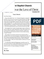 Discover the Love of ChristNov16