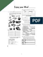 Food Workbook
