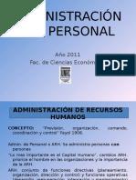 Unidad 1 Administracion de Personal