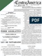 Codigo de Notariado de 1936