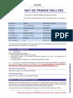02 - Règlement Sportif Championnat de France Des Rallyes 2016 (MAJ Du 01.03.2016)