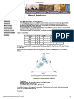 Mineral Admixtures in Concrete