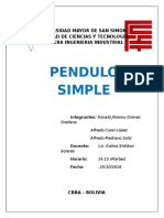 INFORME 3 Pendulo Simple1