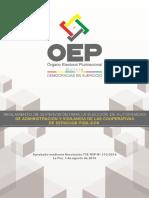 Reglamento Supervisión Cooperativas Tse Rsp Nº 310 - 2016