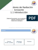 Generadores de Radiación Ionizante