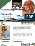 Explorando la DeepWeb lo que la red nos oculta