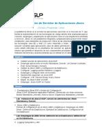 Temas del curso Administración de Servidor de Aplicaciones Jboss