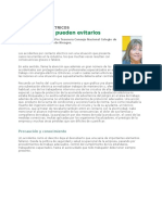accidentes electricos