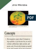 Nutrisi Mikrobia New