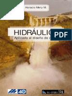 Hidráulica aplicada al diseño de obras