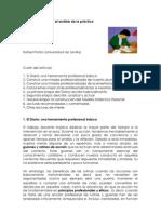 El diario de clases y el análisis de la práctica