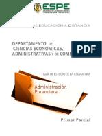 Guia de Administracion Financiera