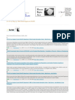 10-06-12 Top 15 most read papers on Scribd - Human Rights Alert s