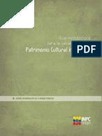 Guía Metodológica Para La Salvaguardia Del Patrimonio Cultural Inmaterial