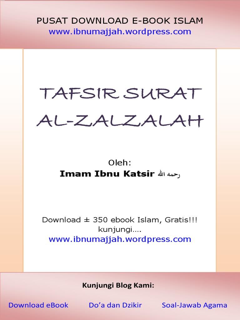 Tafsir Surat Al Zalzalah