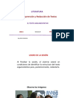 8A-ZZ04 - El Texto Argumentativo 2016-2 PPT