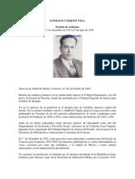 Biografia de Vazquez Vela