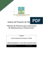 Avance de Proyecto 1 Final - Carlos Ruiz