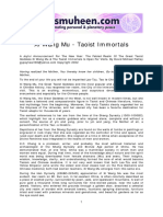 Article Taoist Immortals
