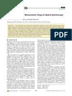 Asphaltene Content Measurement Using an Optical Spectroscopy Technique