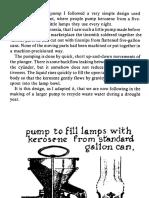 Simple Tin Fluid Transfer Pump Used in Orient Java 1977