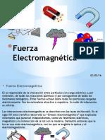 Fuerza Electromagnética