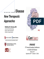 sickle - new therapeutic approaches - canhaem 2016-9  short