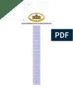 Autos Supremos Jurisprudencia Boliviana TSJ - Sala Plena 2014