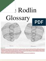 The Rodin Glossary